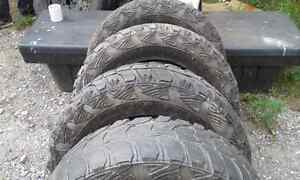 Kumho road venture mt's. Lt265/70r17 Kawartha Lakes Peterborough Area image 2