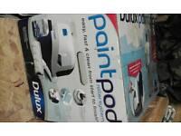 Dulux paint pod.