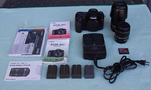 Canon EOS 40D Complete Kit with 2 lens