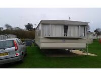 Static caravan sited currently on oaklands holiday park Clacton on sea Essex