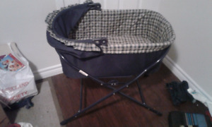 Baby Bassinet and Child Rocking Horse