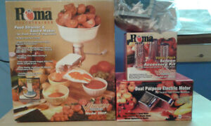 Roma Juicer and Sauce Maker