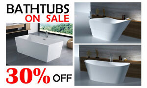 Up to 80 % OFF! Cabinet, bath, shower, faucet, full bathrooms Cambridge Kitchener Area image 2