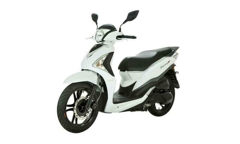 Sym Symphony ST 200i ABS 200cc Big Wheel Scooter Learner legal USB Charging  ABS | in Bristol | Gumtree