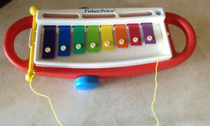 VINTAGE 1989 XYLOPHONE #2214 FISHER PRICE
