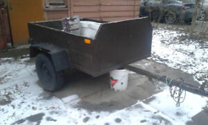 Utility trailer 4×6 (chariot) reduced  price