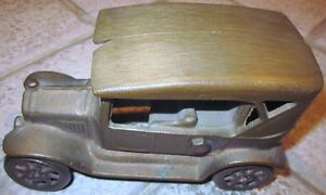 """Antique Cast Iron Toy Car – Stamped """"Made in Canada"""" Cambridge Kitchener Area image 4"""