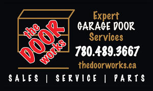 GARAGE DOOR REPAIR & ALL DOOR PARTS LESS THAN $50.00 Strathcona County Edmonton Area image 1