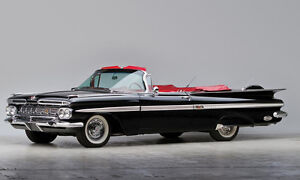 wanted:  1959 Chevrolet Convertible