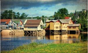 2.13 acres of beautiful land in artistic Bear River, Nova Scotia