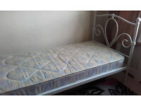 Single Bed With/Without Mattress