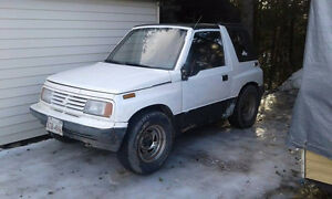 1991 Suzuki Sidekick 5 speed 1000$ firm