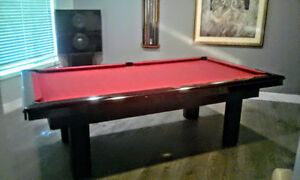 Pool tables,high end furniture & more