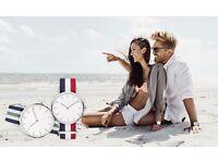 New DW Watch in Cambridge Wristband