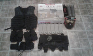 Paintball setup most brand new, comes with recipt