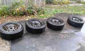 4 Hanook Winter Tires and Rims