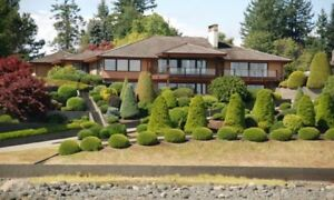 Gated Oceanfront Estate Campbell River