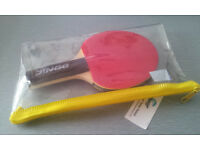 "7"" ' DONIC ' TABLE TENNIS BAT - NEW WITH TAGS"