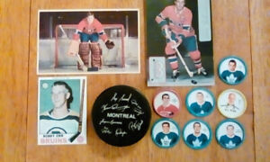 1960's-70's hockey collectibles.