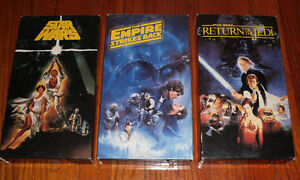Star Wars Trilogy 1992 release of the original trilogy movie set