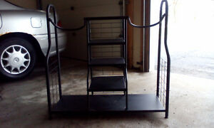 Metal Golf Bag Storage Rack