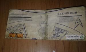 Vintage star trek paper mighty wallet