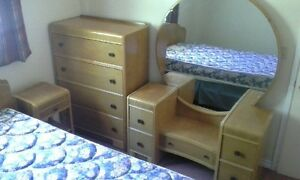 Vintage 1940's Bedroom Set