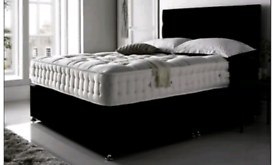 King Size Cot and Mattress