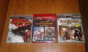 God of War 1,2,3 and Origins Collection Ps3