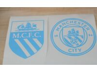 man city car stickers