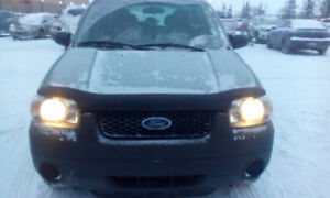 2005 ford escape fwd 2.3l 4 cyl. only 118km