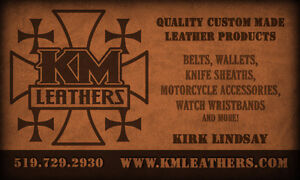 Quality Handmade Leather Products Kitchener / Waterloo Kitchener Area image 1