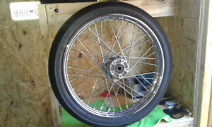 Softail 21inch rim and tire