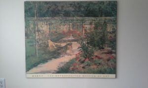 Two wall decors. Claude Monet and Edouard Manet