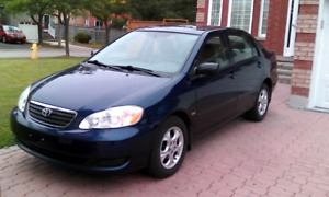 2008 TOYOTA COROLLA LIMITED, SUNROOF, ALLOY RIMS,CERTIFIED,