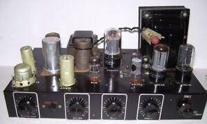 Vintage Bogen -Presto Tube Amplifier Model K130