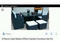 9 piece ratton qube set