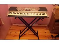 Casio ctk-496 with stand
