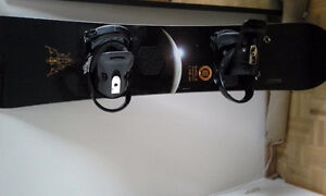 Board, bindings and bag all for a low price