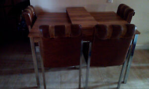 Kitchen Table, 6 Chairs
