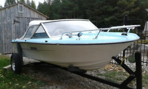 Project boat and motor