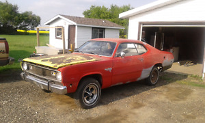 1972 Plymouth duster project