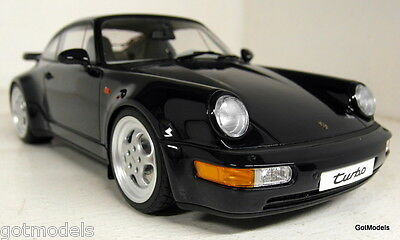 GT Spirit 1/18 Scale Porsche 911 964 Turbo 3.6 Dark blue Resin Cast Model Car