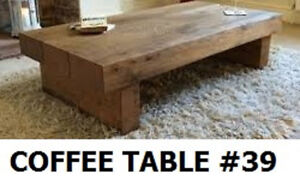 QUALITY HAND CRAFTED COFFEE TABLES