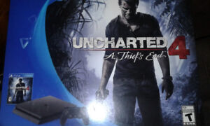 ps4 500GB uncharted 4 edition
