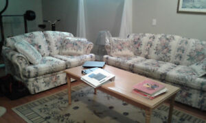 Counch and love seat for sale-bridlewood sw