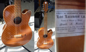 Guitare classique usagée HANDMADE LOS LARENSES Venezuela