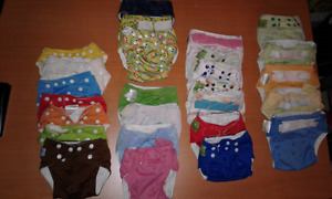 Couches lavables -cloth diapers