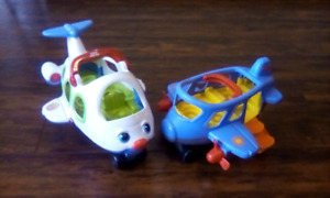 Fisher Price planes both for$5 pick up Caledonia