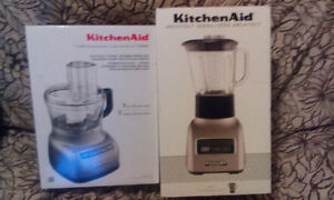 Kitchen Aid BLENDER AND FOOD PROCESSOR
